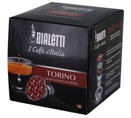 Torino Mokespresso Bialetti capsules x 16