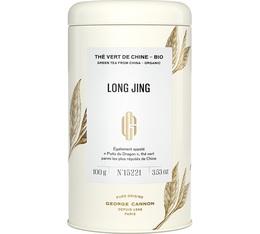 Boîte 100g - Thé vert Long Jing Bio - George Cannon