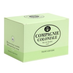 Compagnie Coloniale Verbena herbal tea - 48 individually-wrapped sachets