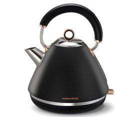 Bouilloire Accents Noire Rose Gold 1.5L - Morphy Richards