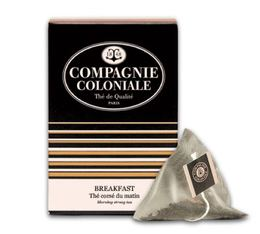 Breakfast black tea - 25 pyramid tea bags - Compagnie Coloniale