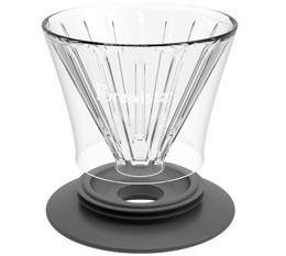 Dripper Brewista Smart Dripper full conique en verre 4 tasses