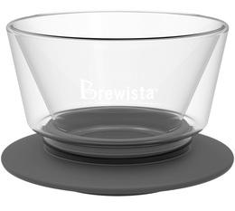 4-Cup glass flat-bottomed Brewista Smart Dripper