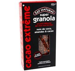 Super Granola noix de coco, amandes et cacao - 425g