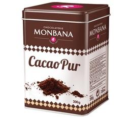 100% Cocoa - Pure Cocoa powder - 200g - Monbana