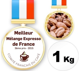 AA Blend Coffee - 3rd Prize for Best French Espresso Blend 2015 - 1kg - Cafés Chapuis