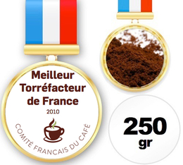 Ground coffee of France Roaster Champion 2010 - 250g - Jérôme Michel
