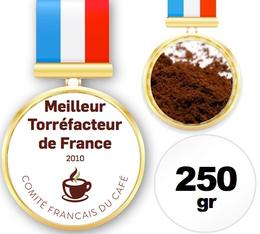 Café moulu champion de France Torréfacteur 2010 - 250 gr - Jérôme Michel