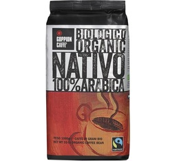 Café en grains bio Nativo 100% Arabica - 1kg - Goppion Caffe