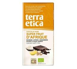 Tablette chocolat Noir 72% Superfruits d'Afrique 100g - Café Michel