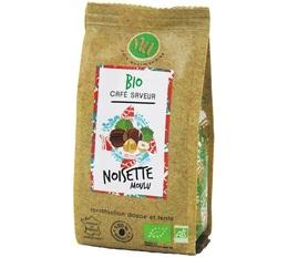 NU hazelnut-flavoured organic ground coffee - 125g