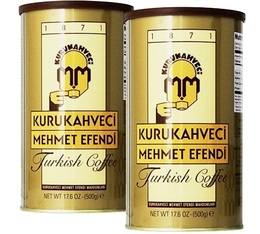 Mehmet Efendi Turkish ground coffee - 2x500g (1kg)