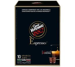 Capsule Espresso Arabica Caffè Vergnano x10