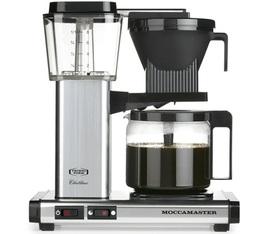 Cafetière filtre Moccamaster KBG741 Aluminium 1.25L + offre cadeaux