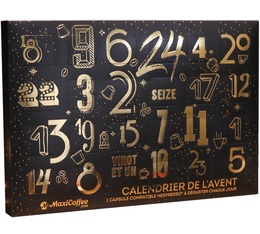 Coffee advent Calendar: 24 Capsules compatible with Nespresso®