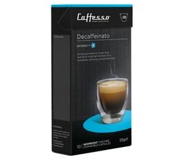 Decafeinato x100 Caffè Caffesso compatible Nespresso