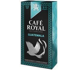Capsules Café Royal Guatemala x 10 pour Nespresso