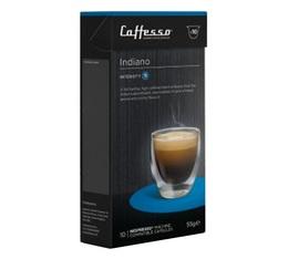 Indiano x10 Caffè Caffesso compatible Nespresso