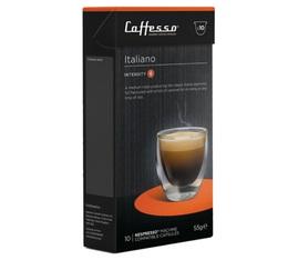 Italiano x10 Caffè Caffesso compatible Nespresso