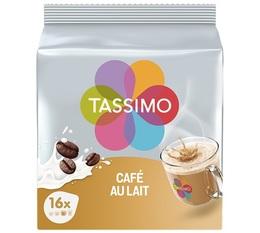Tassimo pods Café au Lait - 16 T-Discs