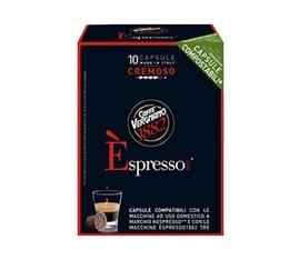 Caffé Vergnano Espresso Cremoso compostable capsules for Nespresso x 10