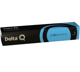 DeltaQ DeQafeinatus coffee capsules x 10