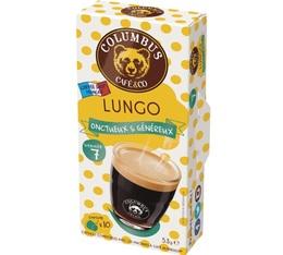Capsules Lungo Columbus Café & Co x10 pour Nespresso