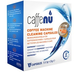 Caffenu cleaning capsules for Nespresso machines