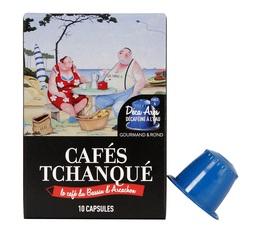 x10 Decaf Arès capsules by Cafés Tchanqué for Nespresso