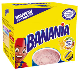 Banania hot chocolate with cereals pods for Dolce Gusto x 16