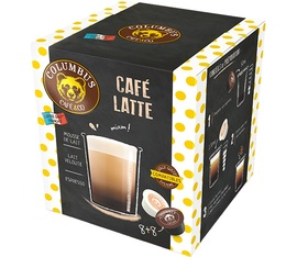 Columbus Café & Co Latte coffee capsules for Dolce Gusto