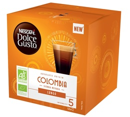 Dolce Gusto Absolute Origin Lungo Colombia organic capsules x 12