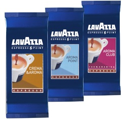 Pack Découverte : 300 Capsules Lavazza Espresso Point