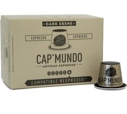 Capsules Dark Ebène x10 CapMundo pour Nespresso