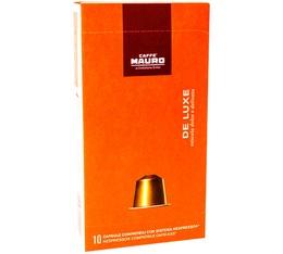 Capsules Deluxe Caffe Mauro x 10 compatibles Nespresso®