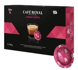 Café Royal Lungo Forte Office Pads x 50 for Nespresso® Professional