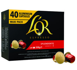 L'Or Espresso Splendente capsules for Nespresso x40