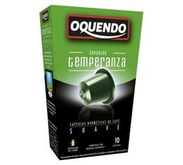 Capsules compatibles Nespresso® 'Temperanza' x10 - Oquendo