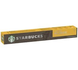 Starbucks Blonde Espresso Roast compatibles Nespresso®- 10 capsules