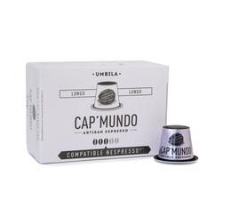 Cap'Mundo Umbila Lungo capsules for Nespresso x 10
