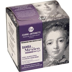 Chocolat en poudre noir Bamba à Mexico 6x40g - Jeanne-Antoinette