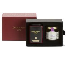 Tea gift box - Trianon - 1 box + Mini Jelly - Dammann Frères