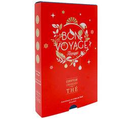 Coffret thé de Noël - Bon Voyage Féérique - 4 parfums - Comptoir Français du Thé