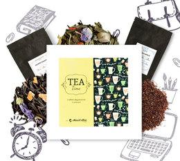 Coffret Tea Time : Rentrée Gourmande - 6 x 50 g de thé en vrac