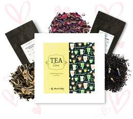 Coffret Tea Time : Amour (St Valentin) - 6 x 50 g de thé en vrac