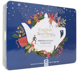 Coffret Premium Holiday Bleu 36 sachets - English Tea Shop