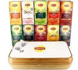 Offre exclusive Gamme complète Lipton Exclusive Selection - Coffret 8 casiers bois OFFERT