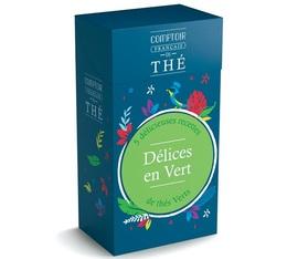 Coffret thé - Délices en Vert - 5 sachets de thés verts - Comptoir Français du Thé