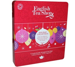 Flavoured Teas and Rooibos gift box - Winter Holidays - 72 sachets in 9 varieties - English Tea Shop