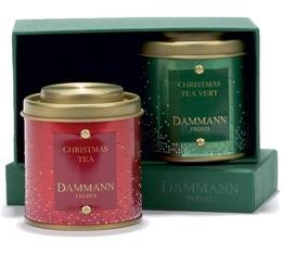 Coffret Collection Noël : Traditions - 2 boîtes thé vrac - Dammann Frères